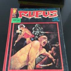 Cómics: RUFUS - 9 NÚMEROS. Lote 244186150