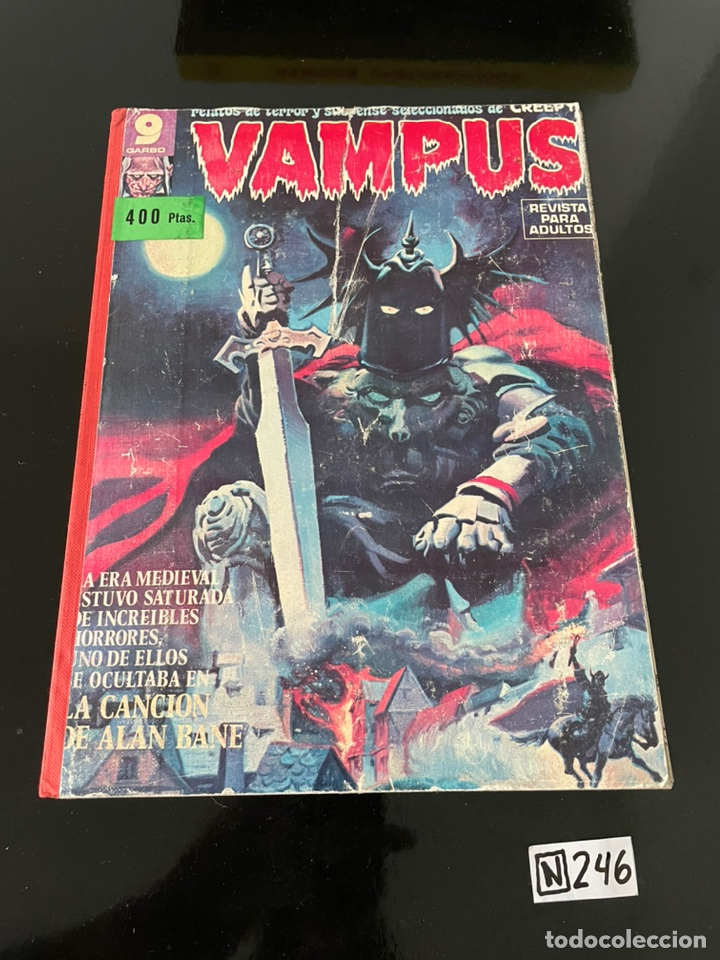 VAMPUS - 7 NÚMEROS (Tebeos y Comics - Garbo)