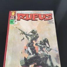 Cómics: RUFUS - 9 NÚMEROS. Lote 244187215