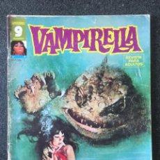 Cómics: VAMPIRELLA Nº 9 - ¡EN EL INFIERNO! - GARBO EDITORIAL - 1975 - ¡BUEN ESTADO!. Lote 244584575