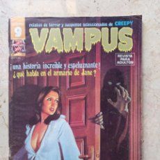 Cómics: VAMPUS 54 INCLUYE PÓSTER. Lote 244827335