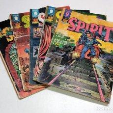 Cómics: 5 NUMEROS DE COMICS SPIRIT DE GARBO AÑOS 70. Lote 245052615
