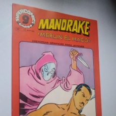 Comics : MANDRAKE, MERLÍN EL MAGO, Nº 17. SUPERCOMICS GARBO.. Lote 246456060
