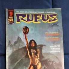 Cómics: RUFUS Nº 28 - GARBO. Lote 248587405