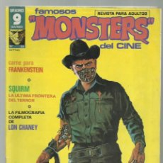 Cómics: FAMOSOS MONSTERS DEL CINE 23, 1975, GARBO, BUEN ESTADO. Lote 252436350