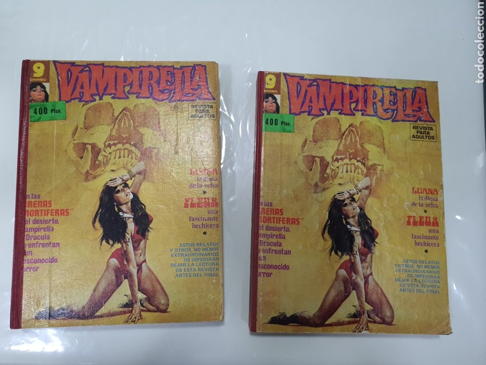 TOMOS VAPIRELLA GARBO (Tebeos y Comics - Garbo)