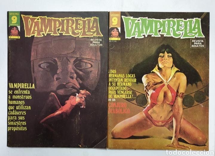 VAMPIRELLA NÚMEROS 20 Y 21. GARBO EDITORIAL (Tebeos y Comics - Garbo)