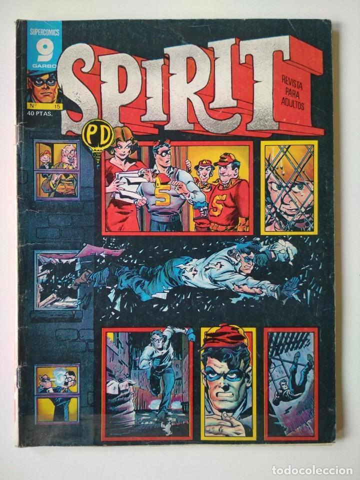 SPIRIT 15 (Tebeos y Comics - Garbo)