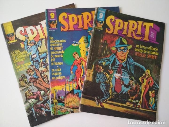 SPIRIT 1, 2 Y 3 (Tebeos y Comics - Garbo)