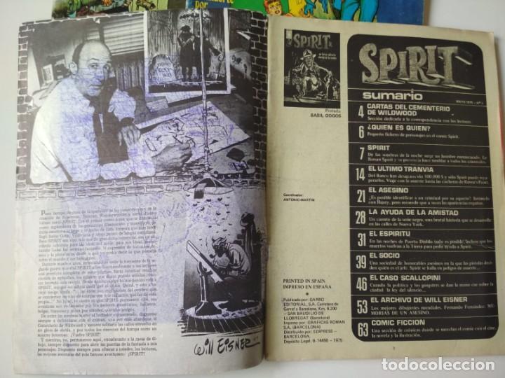 Cómics: Spirit 1, 2 y 3 - Foto 2 - 260353835