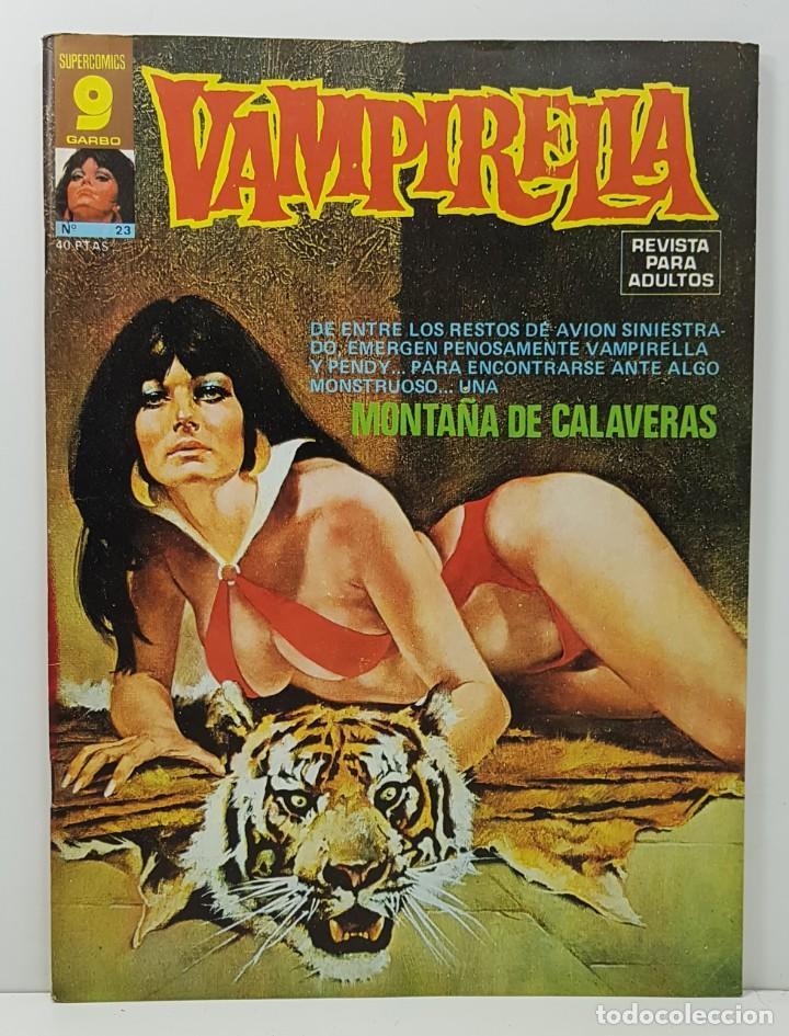 COMIC VAMPIRELLA Nº 23 - REVISTA PARA ADULTOS - GARBO EDITORIAL - 1974/78 - TERROR (Tebeos y Comics - Garbo)