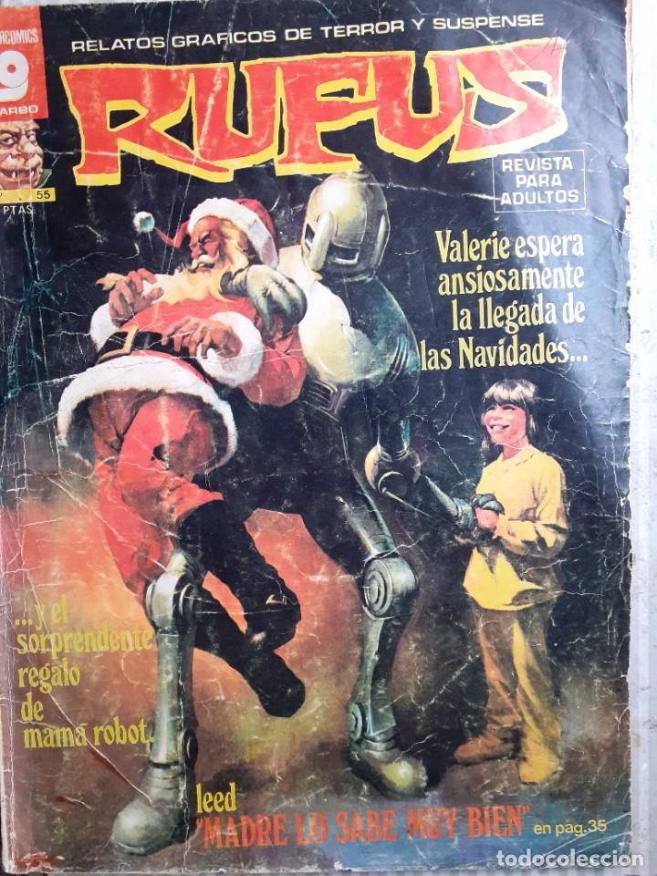 Cómics: RUFUS-RELATOS GRÁFICOS DE TERROR Y SUSPENSE- Nº 55 -1977-AL WILLIAMSON-ALCALÁ-CORRECTO-DIFÍCIL-4673 - Foto 2 - 260815450