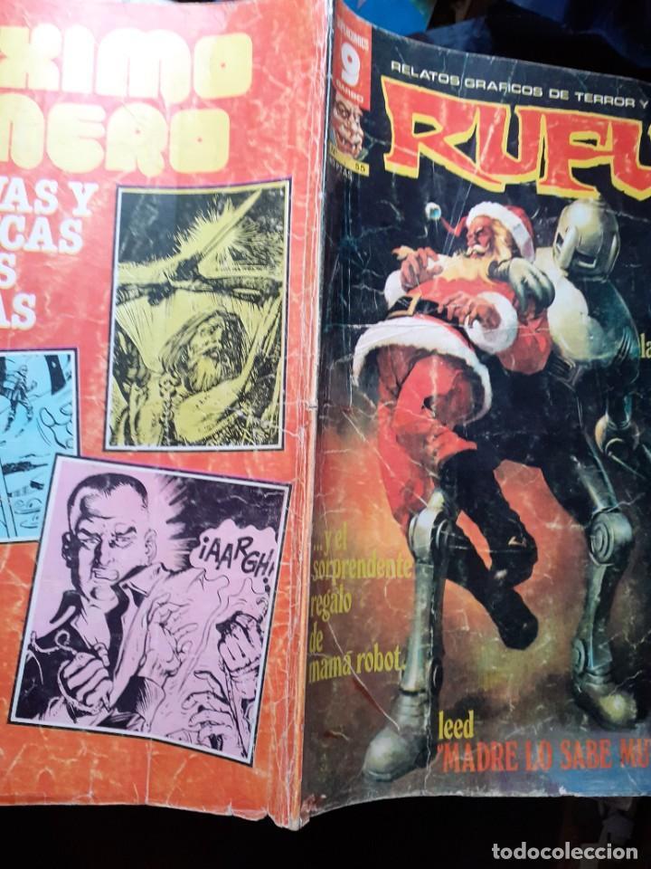 Cómics: RUFUS-RELATOS GRÁFICOS DE TERROR Y SUSPENSE- Nº 55 -1977-AL WILLIAMSON-ALCALÁ-CORRECTO-DIFÍCIL-4673 - Foto 3 - 260815450