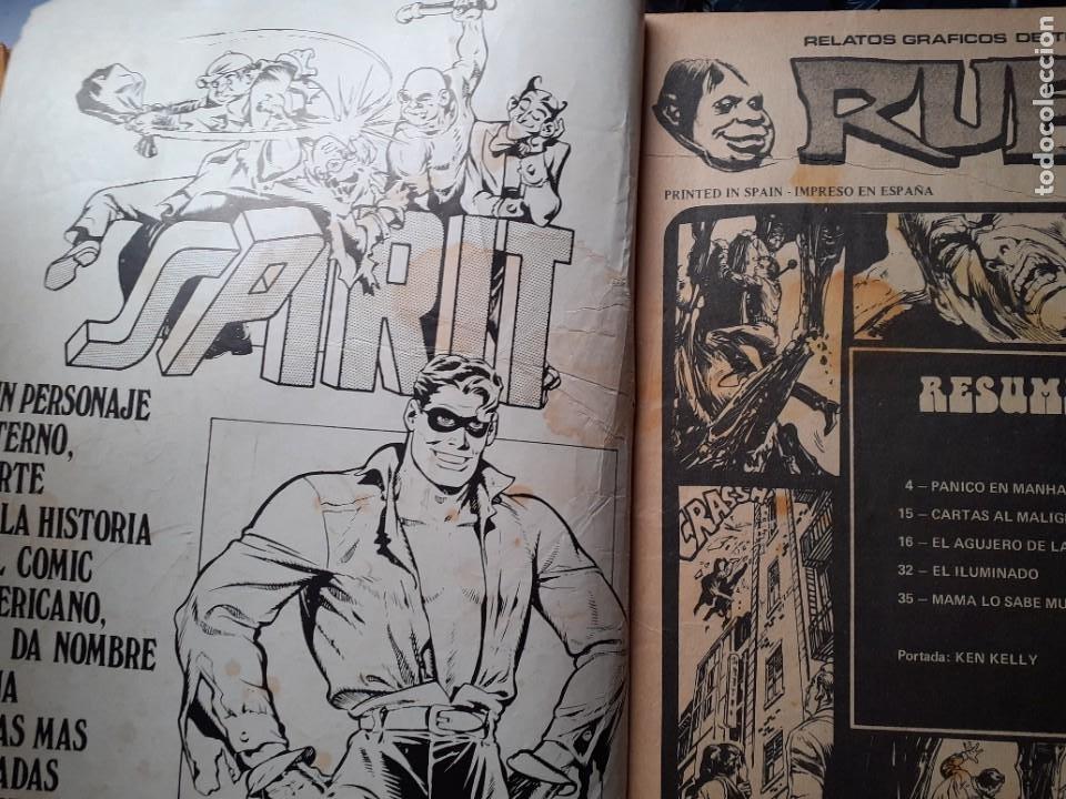 Cómics: RUFUS-RELATOS GRÁFICOS DE TERROR Y SUSPENSE- Nº 55 -1977-AL WILLIAMSON-ALCALÁ-CORRECTO-DIFÍCIL-4673 - Foto 4 - 260815450