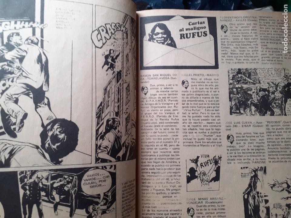 Cómics: RUFUS-RELATOS GRÁFICOS DE TERROR Y SUSPENSE- Nº 55 -1977-AL WILLIAMSON-ALCALÁ-CORRECTO-DIFÍCIL-4673 - Foto 6 - 260815450