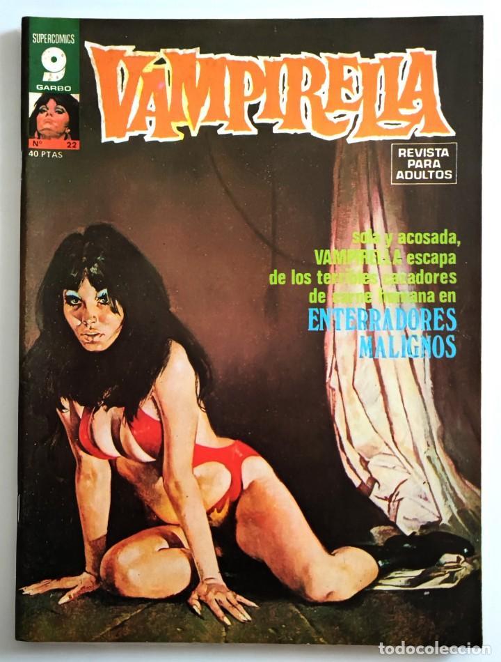 COMIC VAMPIRELLA Nº 22 - REVISTA PARA ADULTOS - GARBO EDITORIAL - 1974/78 - TERROR (Tebeos y Comics - Garbo)