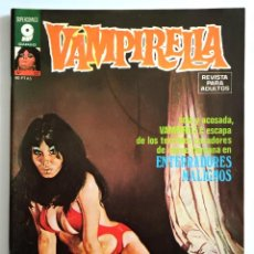Cómics: COMIC VAMPIRELLA Nº 22 - REVISTA PARA ADULTOS - GARBO EDITORIAL - 1974/78 - TERROR. Lote 261615655