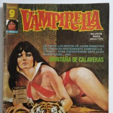 Cómics: COMIC VAMPIRELLA Nº 23 - REVISTA PARA ADULTOS - GARBO EDITORIAL - 1974/78 - TERROR. Lote 261616220