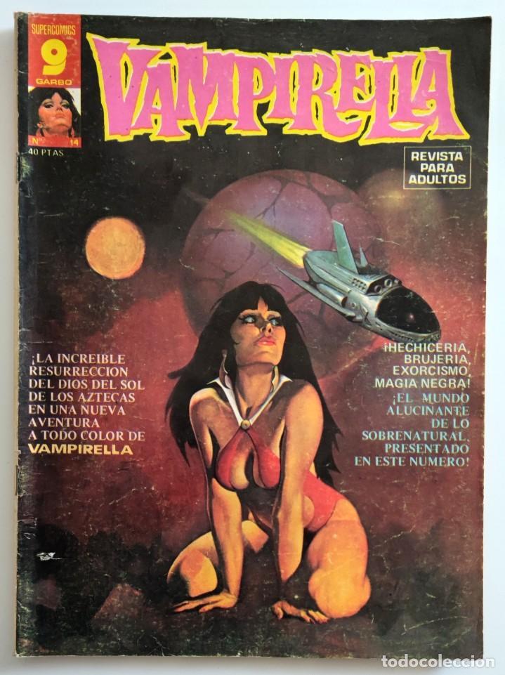 COMIC VAMPIRELLA Nº 14 - REVISTA PARA ADULTOS - GARBO EDITORIAL - 1974/78 - TERROR (Tebeos y Comics - Garbo)