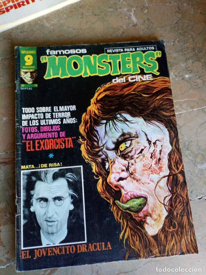 FAMOSOS MONSTERS DEL CINE Nº 19 GARBO (Tebeos y Comics - Garbo)