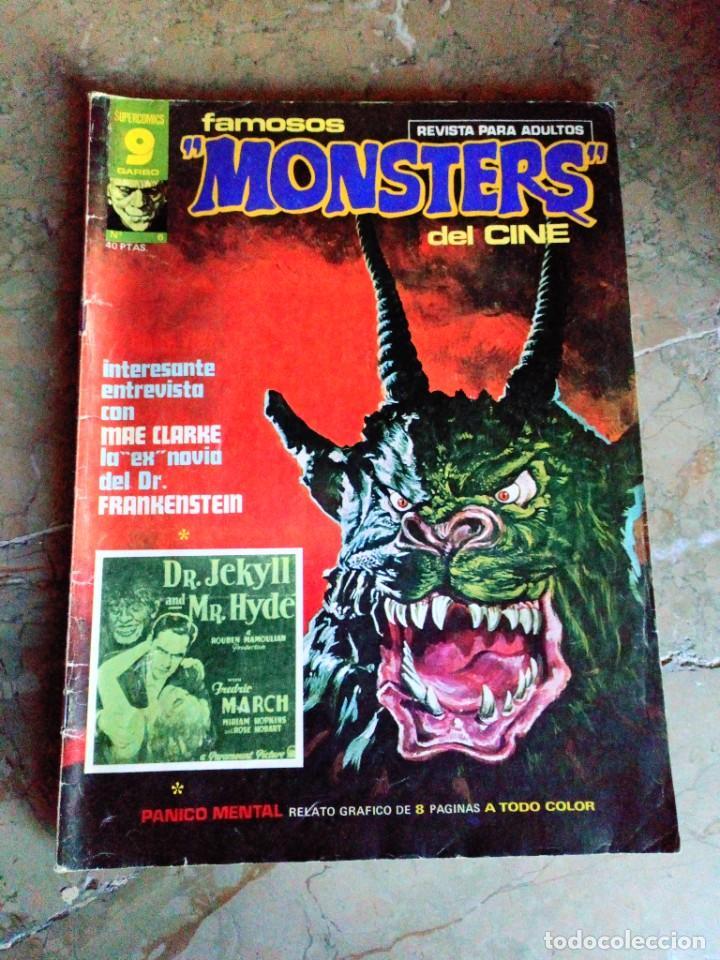 FAMOSOS MONSTERS DEL CINE Nº 6 GARBO (Tebeos y Comics - Garbo)