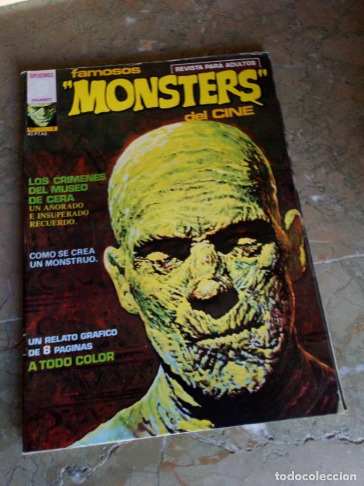 FAMOSOS MONSTERS DEL CINE Nº 3 GARBO (Tebeos y Comics - Garbo)