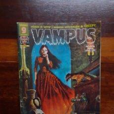 Comics : VAMPUS. NUMERO 45. CON POSTER. RELATOS DE TERROR Y SUSPENSE SELECCIONADOS DE CREEPY. 1975. GARBO. Lote 264354064