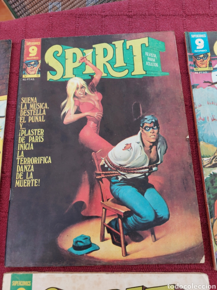 Cómics: SPIRIT SUPERCOMICS GARBO REVISTA PARA ADULTOS-WILL EISNER - Foto 5 - 266089338