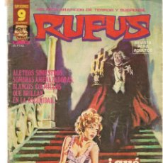 Cómics: RUFUS. Nº 47. RELATOS GRÁFICOS DE TERROR Y SUSPENSE. GARBO, EDITORIAL. ABRIL, 1977. (Z/C8). Lote 267064359