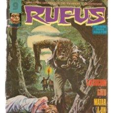 Cómics: RUFUS. Nº 29. RELATOS GRÁFICOS DE TERROR Y SUSPENSE. GARBO, EDITORIAL. OCTUBRE 1975. (Z/C8). Lote 267064624