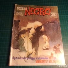 Cómics: DOSSIER NEGRO. Nº 93. IBERO MUNDIAL. CON SEÑALES DE USO.. Lote 267474924