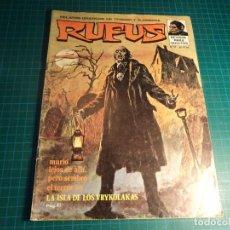 Cómics: RUFUS. Nº 17. IBERO MUNDIAL.. Lote 267475724
