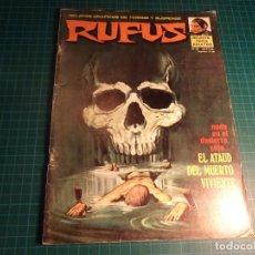 Cómics: RUFUS. Nº 22. GARBO. Lote 267476599