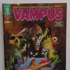 Cómics: VAMPUS 1975 (Nº44) INCLUYE POSTER. Lote 268834579