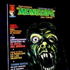 Cómics: MUY BUEN ESTADO MONSTERS 5 SUPERCOMICS GARBO. Lote 270682653