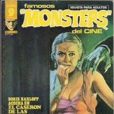 Cómics: GARBO. FAMOSOS MONSTERS DEL CINE. 18.. Lote 271282748