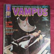 Fumetti: VAMPUS. Nº 47. GARBO EDITORIAL. CONTIENE EL POSTER. Lote 271968443