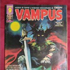 Fumetti: VAMPUS. Nº 48. GARBO EDITORIAL. CONTIENE EL POSTER. Lote 271968598