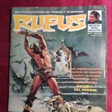 Fumetti: RUFUS. Nº 21. RELATOS DE TERROR Y SUSPENSE. GARBO EDITORIAL.. Lote 272006013