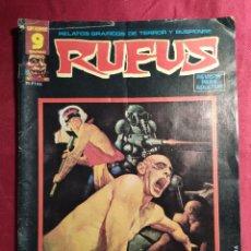 Fumetti: RUFUS. Nº 40 RELATOS DE TERROR Y SUSPENSE. GARBO EDITORIAL.. Lote 272007083