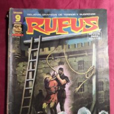 Fumetti: RUFUS. Nº 41. RELATOS DE TERROR Y SUSPENSE. GARBO EDITORIAL.. Lote 272009158