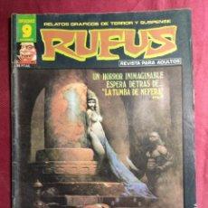 Fumetti: RUFUS. Nº 45. RELATOS DE TERROR Y SUSPENSE. GARBO EDITORIAL.. Lote 272009243