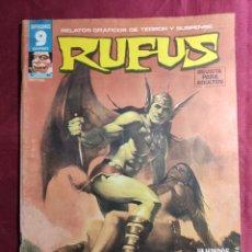 Fumetti: RUFUS. Nº 46. RELATOS DE TERROR Y SUSPENSE. GARBO EDITORIAL.. Lote 272009313