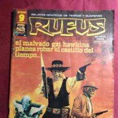 Comics : RUFUS. Nº 49. RELATOS DE TERROR Y SUSPENSE. GARBO EDITORIAL.. Lote 272009563