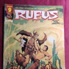 Fumetti: RUFUS. Nº 51. RELATOS DE TERROR Y SUSPENSE. GARBO EDITORIAL.. Lote 272009943