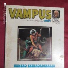 Comics: VAMPUS NUMERO EXTRAORDINARIO DEDICADO A LA CIENCIA FICCION. GARBO EDITORIAL.. Lote 272140818