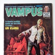 Fumetti: COMIC VAMPUS Nº 43 RELATOS DE TERROR Y SUSPENSE SELECCIONADOS DE CREEPY. Lote 272487803