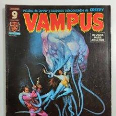 Fumetti: VAMPUS Nº 60 - RELATOS GRAFICOS DE TERROR Y SUSPENSE - GARBO 1976. Lote 240059765