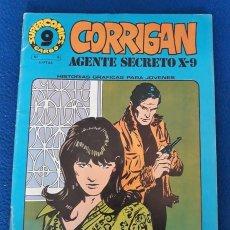Cómics: CORRIGAN. AGENTE SECRETO X-9 Nº 9. Lote 277279563