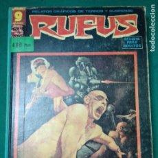 Comics: RETAPADO RUFUS Nº 40, 30, 35, 36, 36, 37, 39 Y 41. GARBO 1976. TAPAS DURAS. RARO.. Lote 283137498